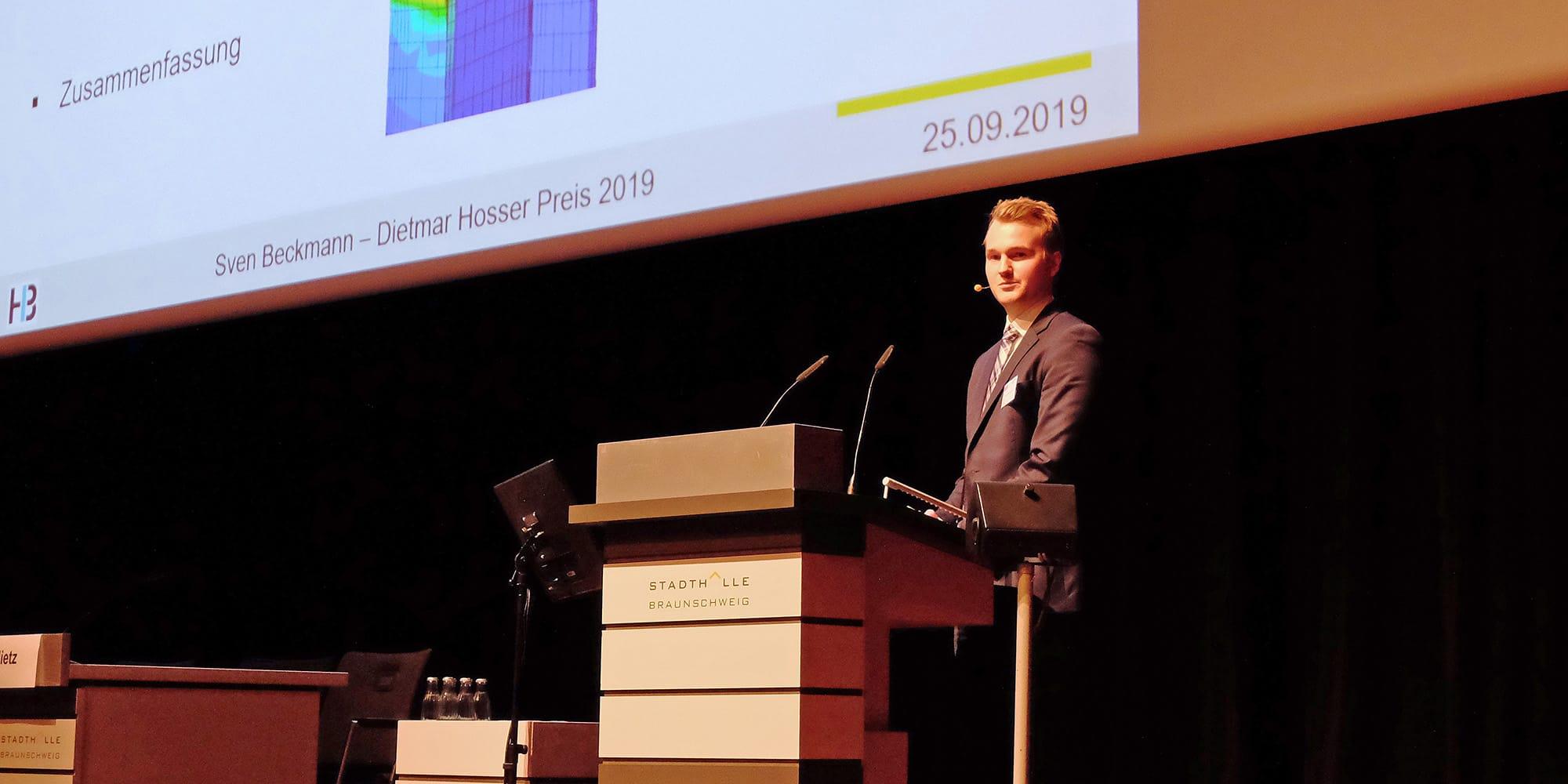 Vortrag beim Dietmar-Hosser-Preis